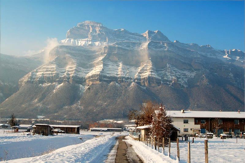 Ferme Antan neige